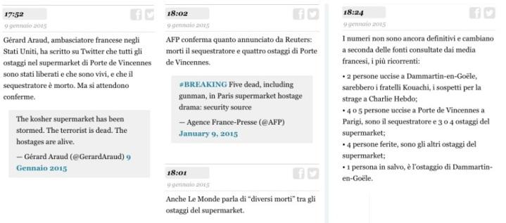 foto sui morti parigi