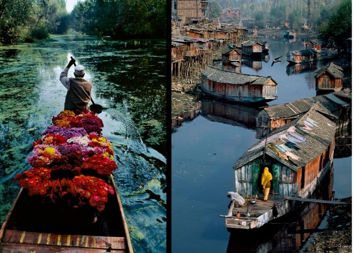 Flower-Seller-Dal-Lake-Kashmir
